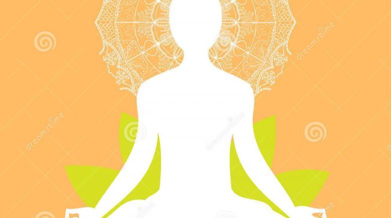 Padmasana-Lotus Pose.